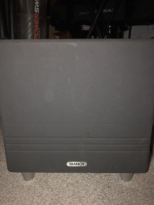 Tannoy ts8 subwoofer for Sale in Poway, CA