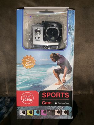 1080p waterproof camcorder for Sale in Paw Paw, MI