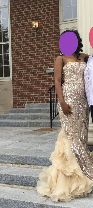 Jovani Sleeveless Floor Length Sequin Dress for Sale in Annandale, VA