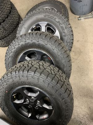 Jeep Gladiator Rubicon Tires and Rims for Sale in Scottsdale, AZ