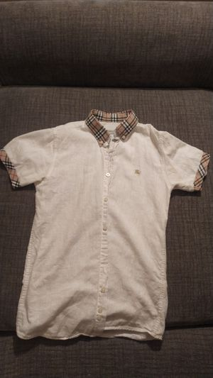 Burberry shortsleeve shirt. 11-12 years old boys. for Sale in Walnut Creek, CA