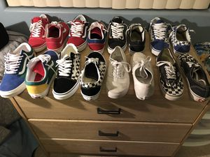 Vans all different sizes for Sale in Goodyear, AZ