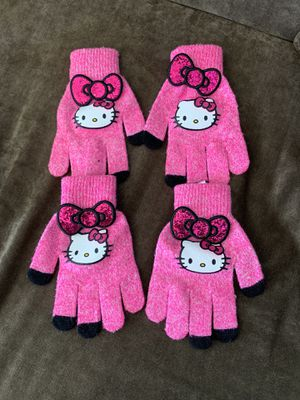 Hello Kitty mittens for Sale in Los Angeles, CA
