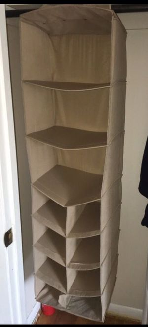 bed bath and beyond closet organizer for Sale in Catonsville, MD