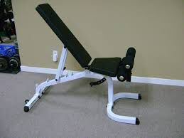 Body solid adjustable bench with wheels for Sale in Saint Charles, MO
