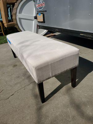 Cream/tan Bench for Sale in Fresno, CA