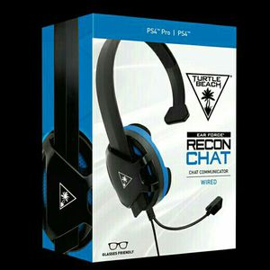 TURTLE BEACH RECON CHAT HEADSET PS5 PS4 XBOX ONE SWITCH PC MOBILE BRAND NEW IN BOX for Sale in Fort Worth, TX