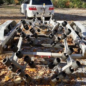 Shore-Land'r Tandem Boat Trailer Easy Loading for Sale in Cuyahoga Heights, OH