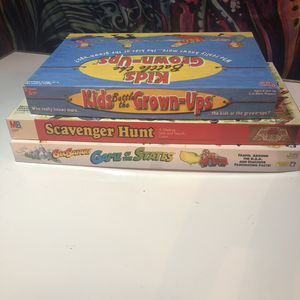 Family board game lot - Trivia, educational, classic for Sale in Minneapolis, MN