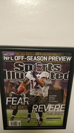 Jacoby Jones Signed sports illustrated for Sale in Annandale, VA
