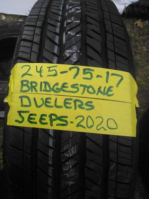 Complete set of 2020 jeep wrangler wheel's on 245/75/17 for Sale in Meriden, CT
