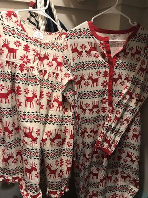 Hanna Andersen matching Xmas pjs for Sale in Falls Church, VA