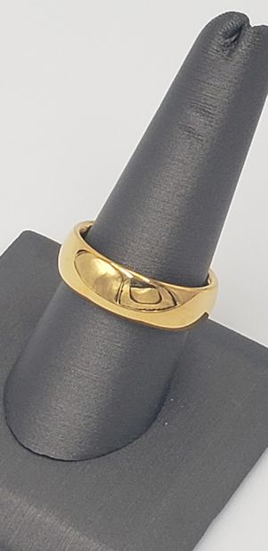 14K Gold Plated / Tungsten Carbide Ring for Sale in Phoenix, AZ
