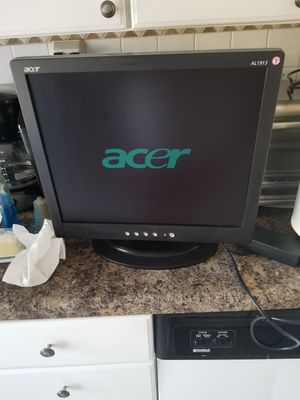 Acer computer monitor for Sale in Fort Washington, MD