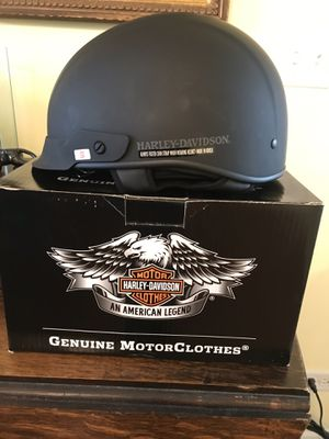 Harley Davidson Ultra Light Matte Black Helmet New in box for Sale in Morton Grove, IL