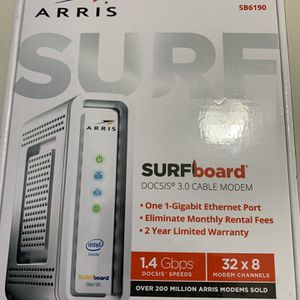 Arris Surfboard 32x8 1GBps Ethernet Port 3.0 Cable Modem for Sale in Union City, GA