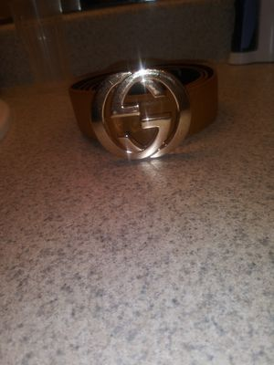 Gucci belt 100 obo for Sale in Austin, TX