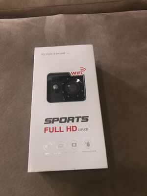 "New full HD action camera with 2"" LCD with extras for Sale in Fort Lauderdale, FL"