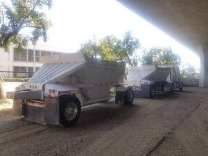 Bottom dump trailers 87 fruhaff for Sale in Bellflower, CA
