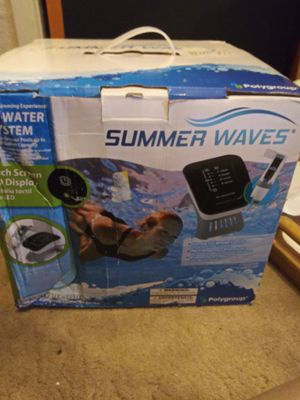 Summer waves salt water system for Sale in Tucson, AZ