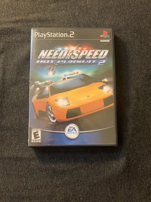 PlayStation 2 game. Need for speed hot pursuit 2. for Sale in Irvine, CA