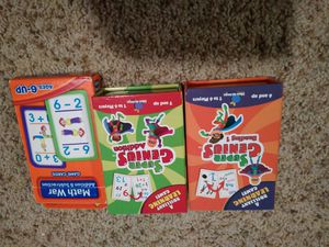 Card Game for Kids ( reading and math) for Sale in Bellevue, WA