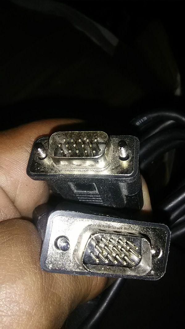 Older computer connectors
