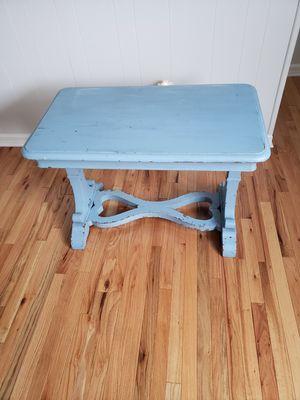 Antique light blue table for Sale in Fairfax, VA