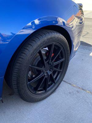 Black Liquid Metal Shadow 18in Wheels for Sale in Las Vegas, NV