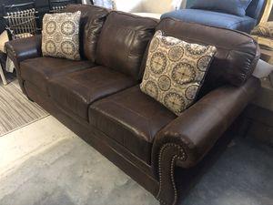 Brand New Sofa with Nailhead Trim for Sale in Virginia Beach, VA