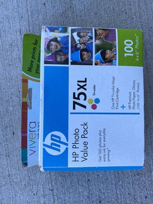 Hp 75xl cartridge brand new unopen for Sale in Frederick, MD
