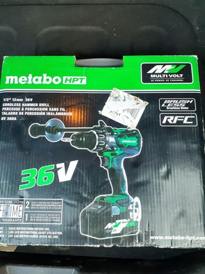 Metabo 36v drill sale or trade for Sale in Sarasota, FL
