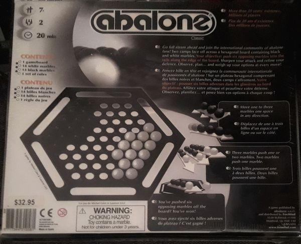 Abalone Board Game! Sealed!