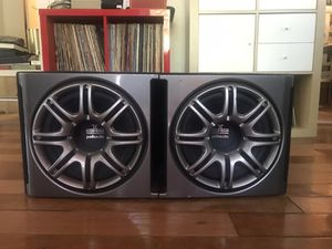 "Polk Audio DB-1222 Dual 12"" Sub/Box for Sale in Austin, TX"