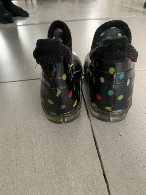 Girls rain ankle boots size 12-13 for Sale in West Covina, CA
