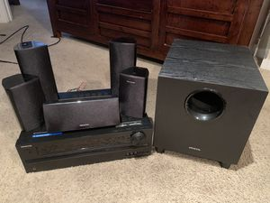 ONKYO AC Receiver and speakers for Sale in Tampa, FL