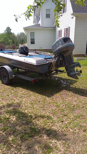 Skeeter 17',boat, 130 hp Yamaha , 36 volt trolling motor for Sale in Perkinston, MS