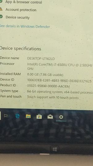 """Dell Inspiron 13"""" 2in1 laptop/tablet with touchscreen display. for Sale in Portland, OR"""