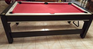 Red Pool & Air Hockey Table for Sale in Austin, TX