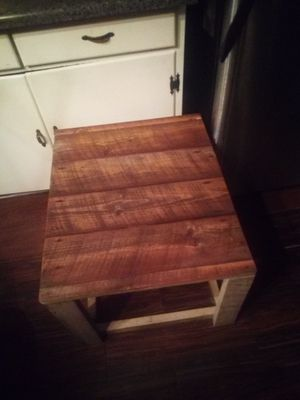 Custom built table out of 100 year old vintage wood for Sale in Asheboro, NC