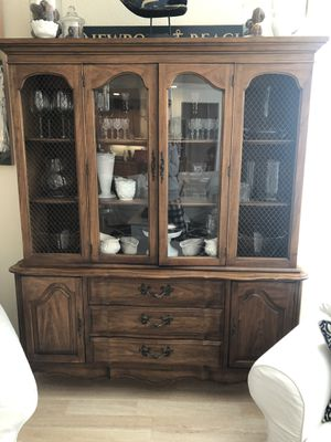 1960's Antique China Hutch for Sale in Tracy, CA