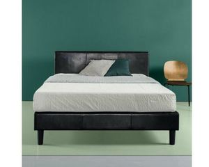 King size bed frame no mattress include for Sale in Fort Worth, TX