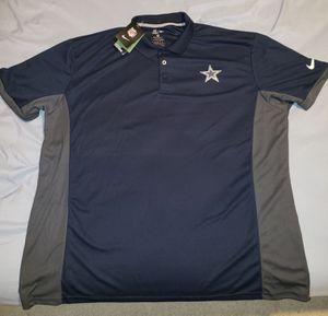 NEW Dallas Cowboys NIKE Polo for Sale in Las Vegas, NV