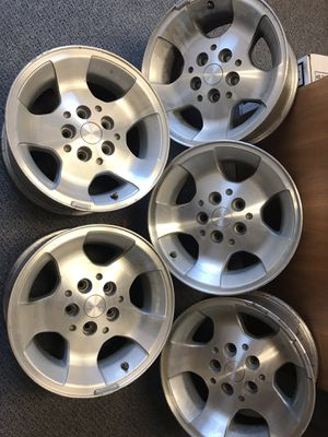 Jeep Wrangler sport wheels and lift parts for Sale in San Marcos, CA
