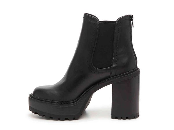 Platform Ankle block heel boots sizes varied