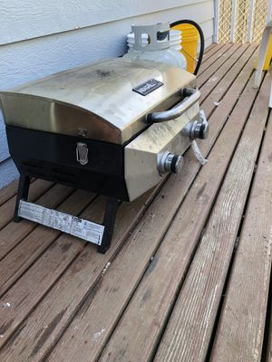 Two burner camping grill for Sale in Bellingham, WA