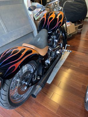 Custom ProStreet soft tail 2014 / 550 Miles Sale/ Trade for Sale in Laguna Beach, CA