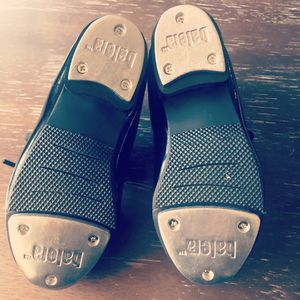 Like New: Girls size 9C Balera tap shoes for Sale in Portland, OR