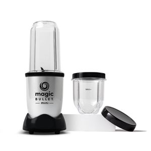 Magic Bullet Mini Blender, 7 Piece Set, 200 Watt with Cross Blade, Silver for Sale in Cleveland, OH