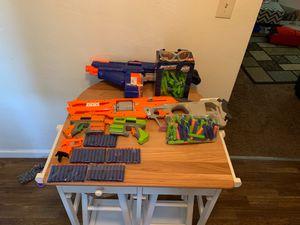 Nurf guns bundle deal for Sale in El Cajon, CA